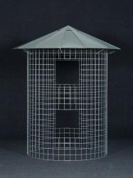 Kleiner Holzschuppen 4m3 mit verzinktem Dach