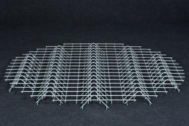 Verzinktes Stahlrost – großer Holzschuppen
