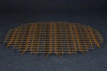 Rošt ocelový nepozinkovaný - velký dřevník