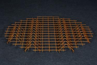 Rošt ocelový nepozinkovaný - malý dřevník