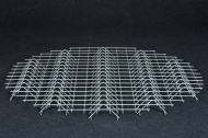 Galvanized steel grate – large woodshed