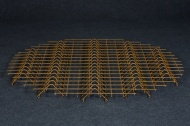 Non-galvanized steel grate – large woodshed