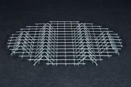 Rošt ocelový pozinkovaný - malý dřevník
