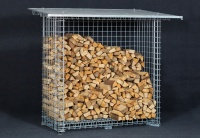 Dřevník speciál - hranatý 4 m³